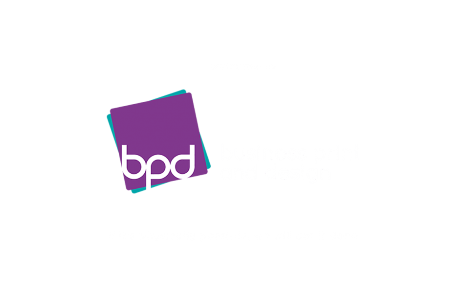BP&D logo with welcome and strapline